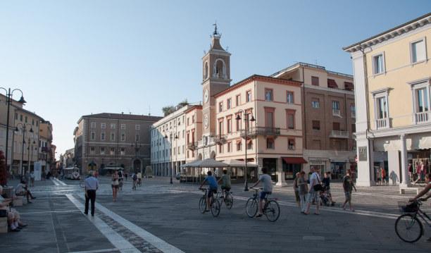 Kurztrip Rimini (Stadt), Adria, Italien, ...mich beeindruckt noch mehr die schöne Altstadt von Rimini.
