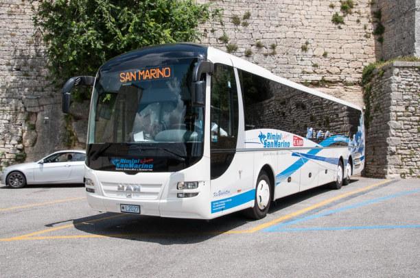 Kurztrip Rimini (Stadt), Adria, Italien, Mit dem Bus ist der kleine Staat San Marino gut von Rimini aus erreich