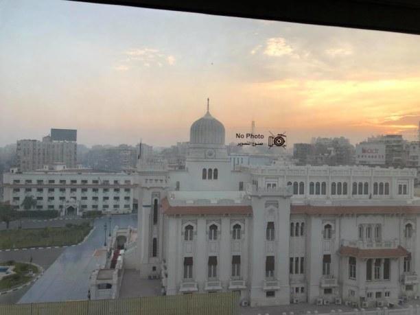 Kurztrip Kairo, Ägypten, View out of the hotel room