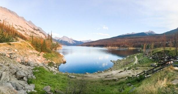 Kurzurlaub Jasper (Stadt), Alberta, Kanada, Auch wenn im Sommer wahnsinnig viele Touristen unterwegs sind, ist der