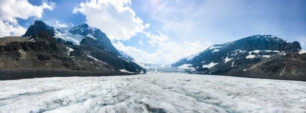 Kurzurlaub Jasper (Stadt), Alberta, Kanada, Wenn du auch den Gletscher besuchen möchtest, musst du unbedingt ein