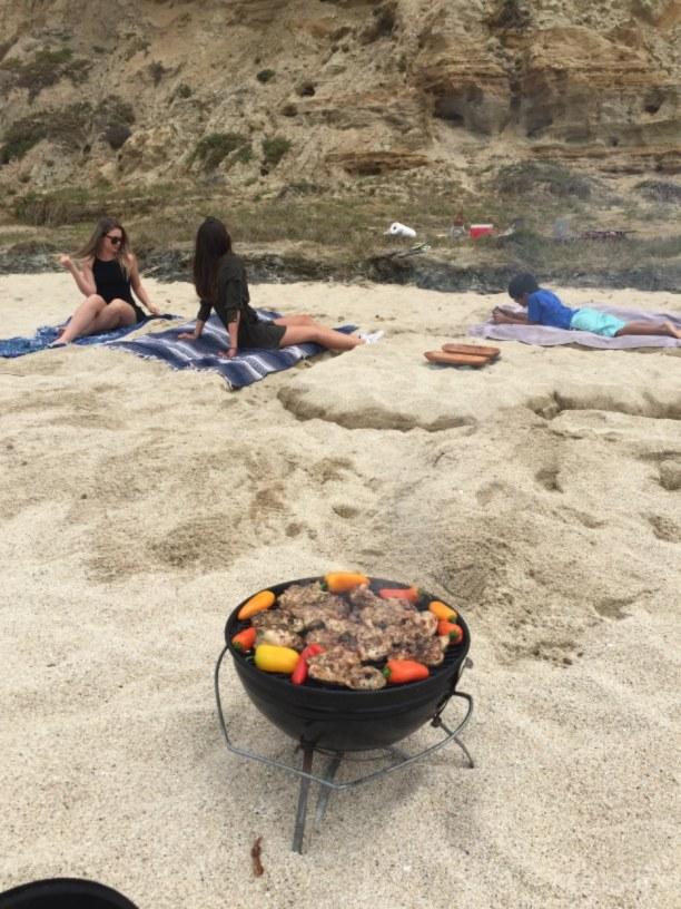 Langzeiturlaub Amerika, alle Länder, BBQ at the beach