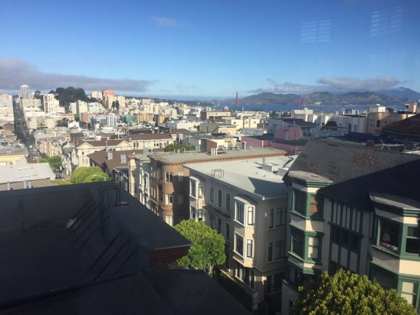 Langzeiturlaub Amerika, alle Länder, View from the apartment in San Francisco