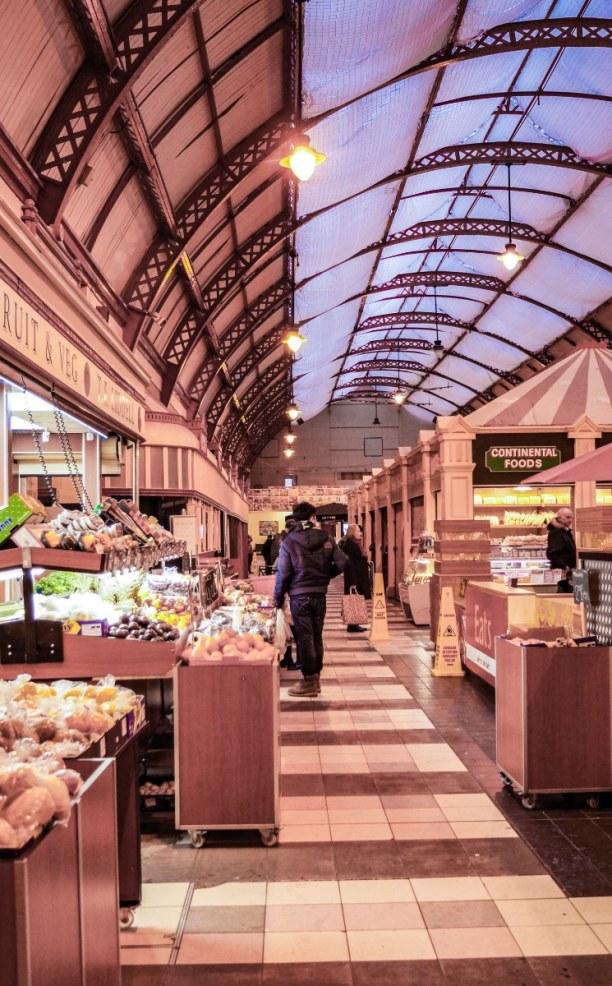 Kurzurlaub Amsterdam (Stadt), Amsterdam & Umgebung, Niederlande, Der Grainger Market - eine histotische Markthalle, welche ihr definiti