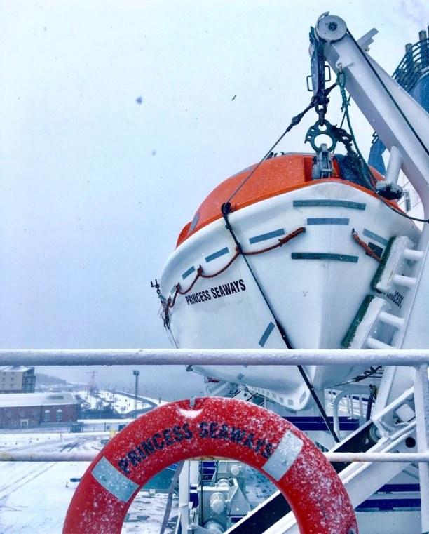 Kurzurlaub Amsterdam (Stadt), Amsterdam & Umgebung, Niederlande, Wieder an Bord der Princess Seaways. Das war nur ein kurzer Abstecher