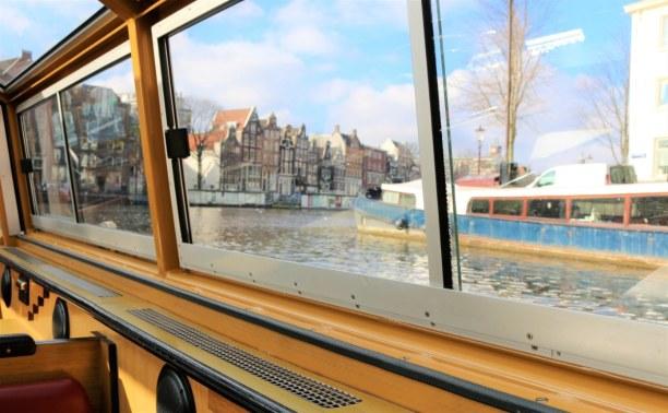 Kurztrip Amsterdam (Stadt), Amsterdam & Umgebung, Niederlande, Angekommen in Amsterdam unternehmen wir eine Grachtenfahrt, bevor wir