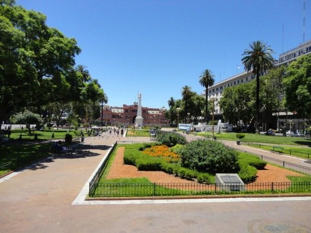 Kurztrip Provinz Buenos Aires, Argentinien, San Telmo ist eines der attraktivsten Viertel von BA, mit engen gepfla