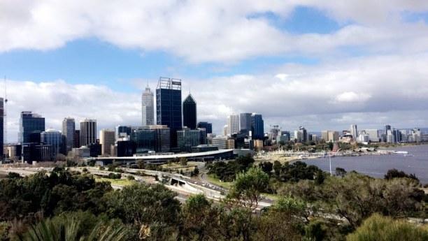 Langzeiturlaub Australien, Australien, Perth Skyline