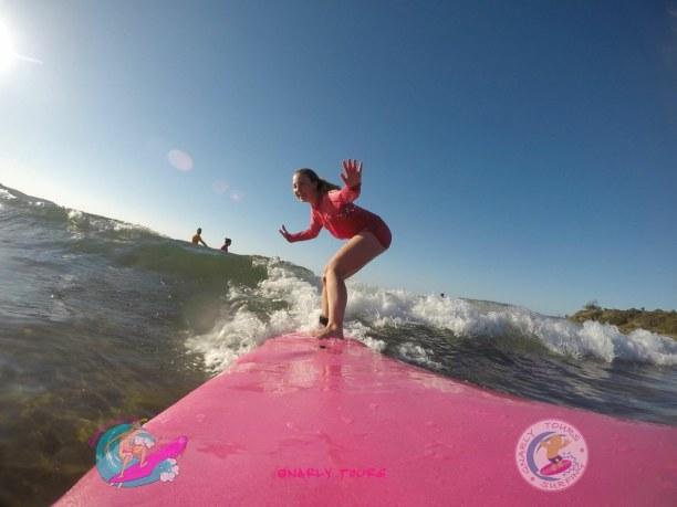 Langzeiturlaub Australien, Australien, Surf-Unterricht in 1770