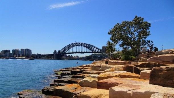 Eine Woche New South Wales, Australien, Die Harbour Bridge hat eine Gesamtlänge von 1149 Metern und stellt di
