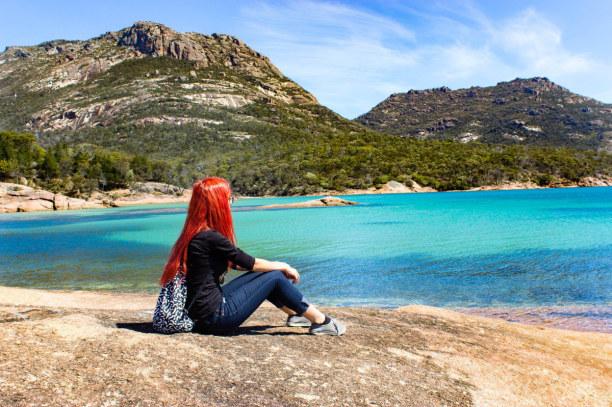 Zwei Wochen Victoria, Australien, Honeymoon Bay, Coles Bay - Tasmanien