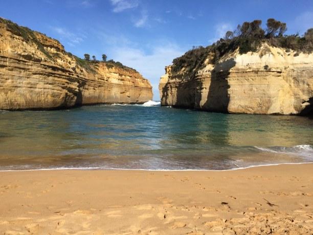 Kurzurlaub Victoria, Australien, Einer meiner Lieblingsplätze entlang der Great Ocean Road ist Loch Ar
