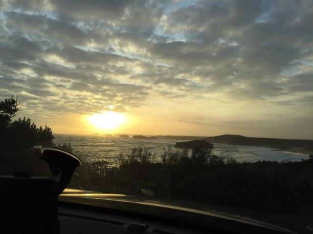 Kurztrip Victoria, Australien, Mein Tipp für die Great Ocean Road: Einfach den braunen Hinweisschild