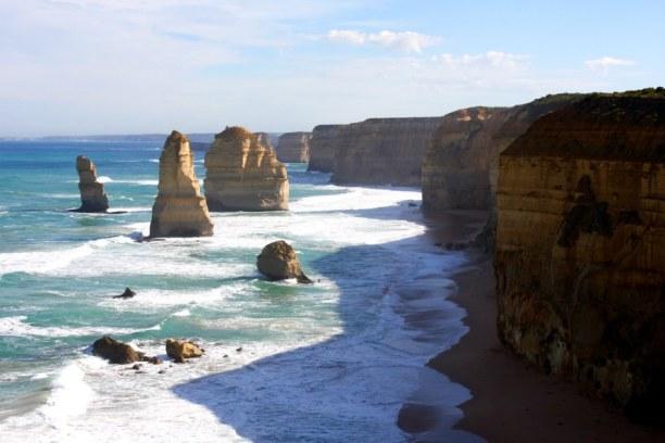 Kurztrip Victoria, Australien, Das bekannteste Fotomotiv der Great Ocean Road sind die 12 Apostel. Al