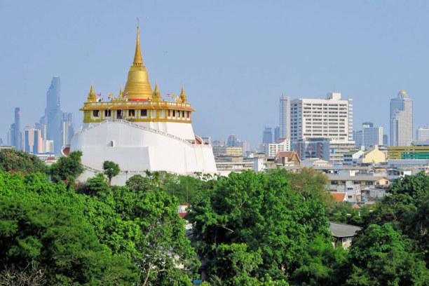 Langzeiturlaub Bangkok (Stadt), Bangkok und Umgebung, Thailand, Golden Mount (Wat Saket)