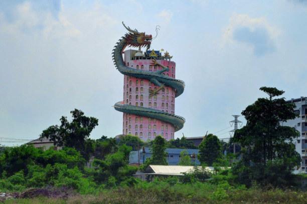 Langzeiturlaub Bangkok (Stadt), Bangkok und Umgebung, Thailand, Wat Samphran