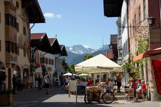 10 Tage Wallgau (Stadt), Bayern, Deutschland, Mittenwald