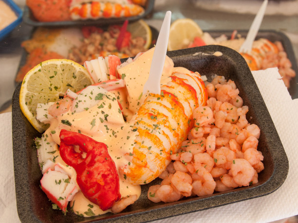 Eine Woche Belgien, Belgien, Und so sehen die Shrimps dann auf dem Teller aus. ;-)
