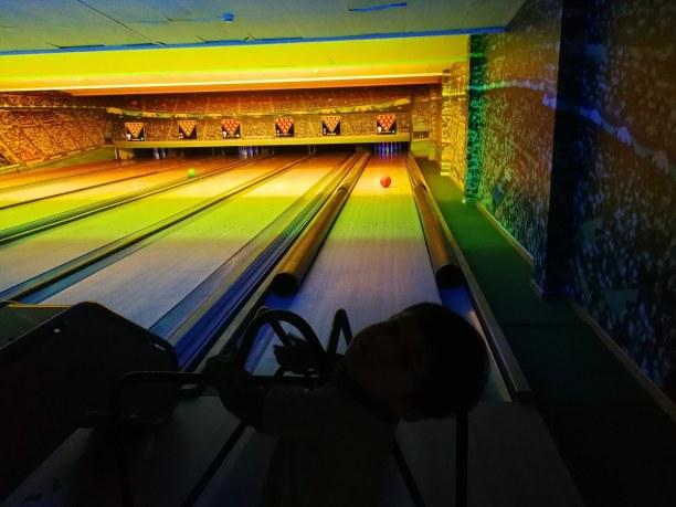 Eine Woche Belgien, Belgien, Bowling, auch mit Kinderbowling Bahn