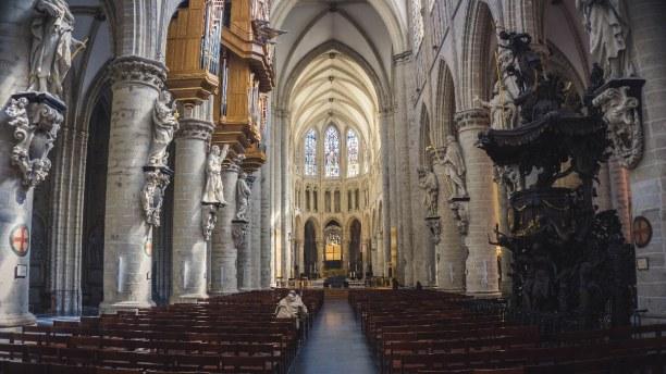 Kurztrip Brüssel & Umgebung, Belgien, Die Kathedrale St. Michael ist der Ort an dem königliche Hochzeiten o