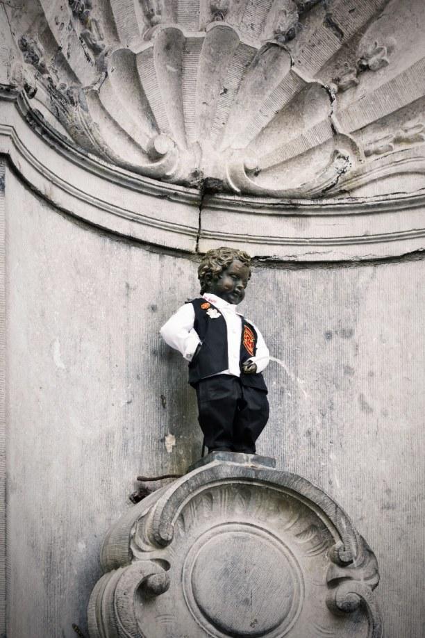 Kurzurlaub Brüssel & Umgebung, Belgien, Dieser kleine Kerl ist 61 cm groß und wurde zum ersten Mal 1619 aufge