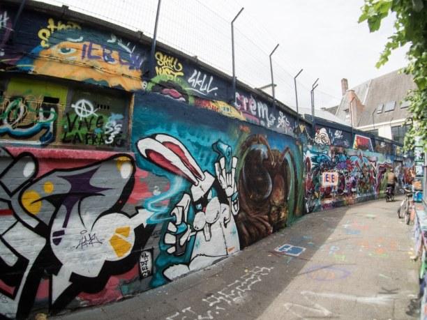 Kurzurlaub Gent (Stadt), Belgien, Belgien, In Gent gibt es eine ganze Straße - die Graffiti Street - voller Kuns