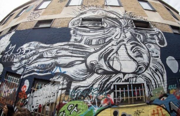 Kurztrip Gent (Stadt), Belgien, Belgien, In Gent kannst du die Concrete Canvas Street Art Tour auf eigene Faust