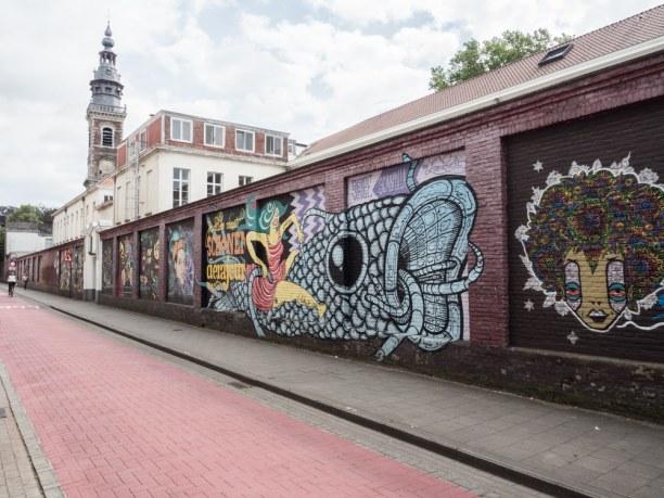 Kurztrip Gent (Stadt), Belgien, Belgien, Die Wände in Gent lassen sich in optimal in einem wunderschönen Spaz