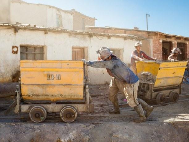 Langzeiturlaub Bolivien, Bolivien, Potosi, Minenarbeiter