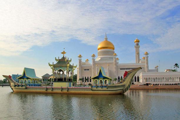 Kurzurlaub Bandar Seri Begawan (Stadt), Brunei, Brunei, Omar-Ali-Saifuddin-Moschee
