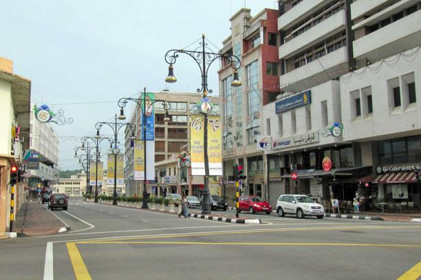 Kurztrip Bandar Seri Begawan (Stadt), Brunei, Brunei, Wenig los auf den Straßen der Hauptstadt