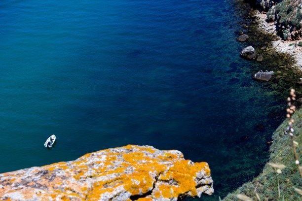 Kurztrip Bulgarien, Bulgarien, Das Kap von Kaliakra liegt in der Region Dobrudschka. Die rötlichen F