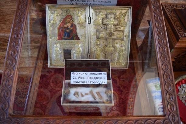 Kurztrip Goldstrand (Stadt), Bulgarische Riviera Norden (Varna), Bulgarien, Schrein in der Kirche