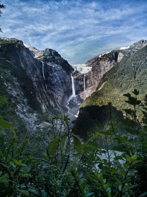 2 Wochen Patagonien, Chile, Der Hängegletscher Ventisquero Colgante im Queulat Nationalpark