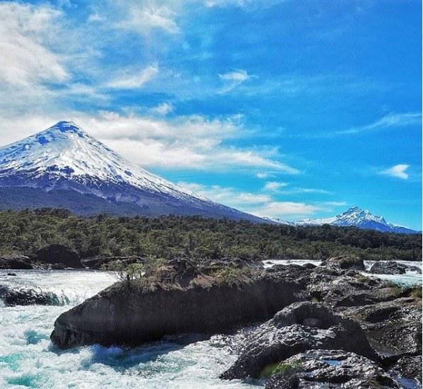 Langzeiturlaub Santiago de Chile & Umgebung, Chile, Der Park Petrohue hat einige Wanderrouten zu bieten