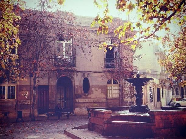 Kurztrip Santiago de Chile & Umgebung, Chile, Das kleine Barrio Paris-Londres ist ein Kleinod inmitten des Großstad