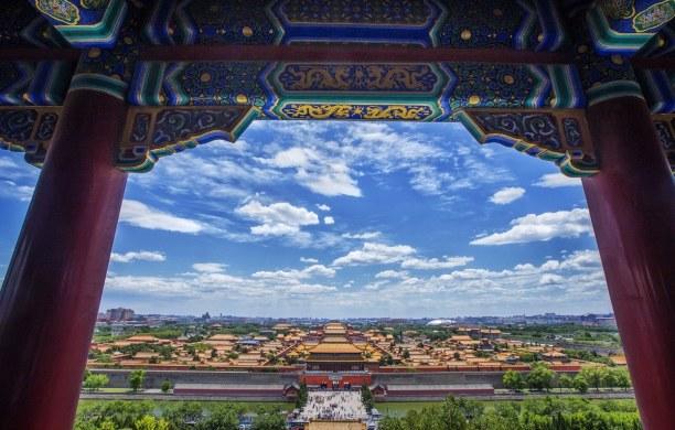 Eine Woche Peking und Umgebung, China, Die Verbotene Stadt liegt direkt im Zentrum Pekings. Bis ins Jahr 1911