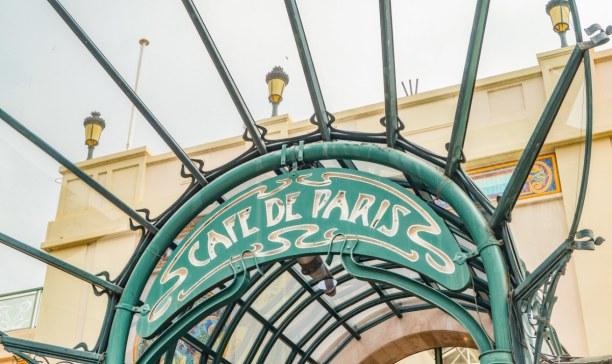 Langzeiturlaub Nizza (Stadt), Côte d'Azur, Frankreich, Das berühmte Café de Paris in Monaco