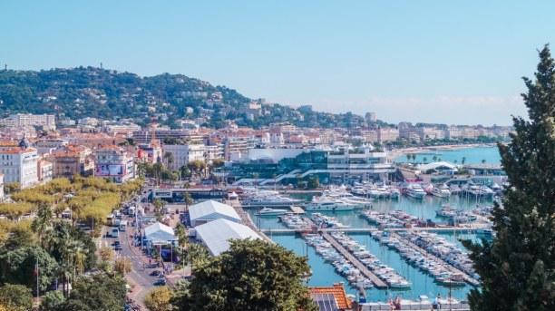 Langzeiturlaub Nizza (Stadt), Côte d'Azur, Frankreich, Ein Blick auf Cannes