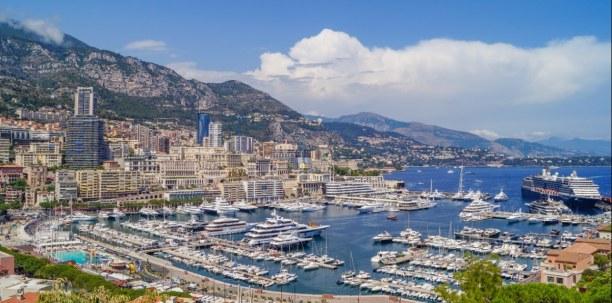 Langzeiturlaub Nizza (Stadt), Côte d'Azur, Frankreich, Der Hafen von Monaco/Monte Carlo: von kleinen Yachten bis zu großen K