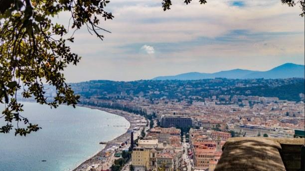 Langzeiturlaub Nizza (Stadt), Côte d'Azur, Frankreich, Ein Blick auf die Stadt Nizza