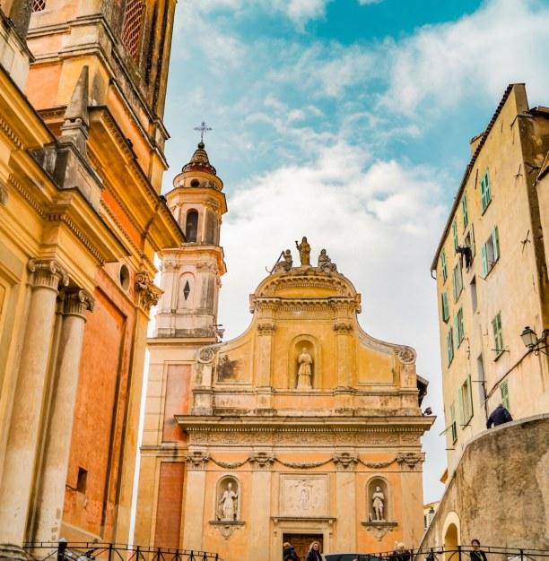 Eine Woche Nizza (Stadt), Côte d'Azur, Frankreich, Die Kirche Saint Michel mit der angeschlossenen Büßerkapelle