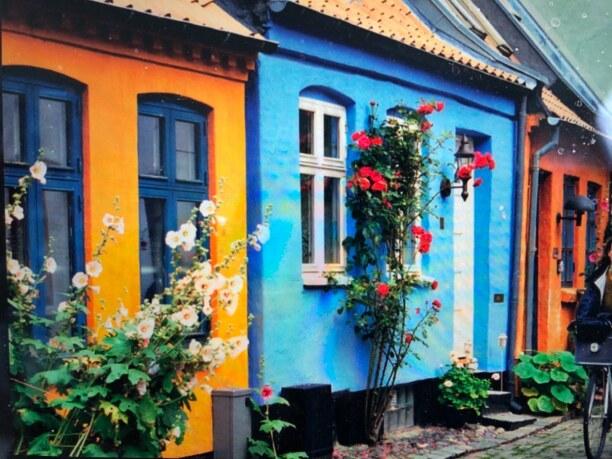 Kurzurlaub Aarhus, Dänemark, bunte Altstadt