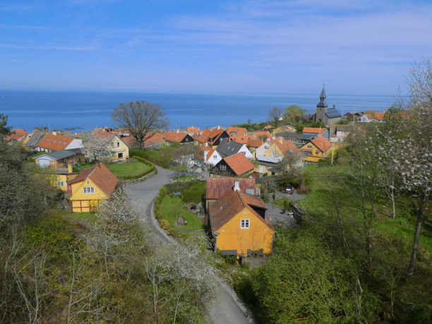 10 Tage Bornholm, Dänemark, Gudhjem, Bornholm, Denmark
