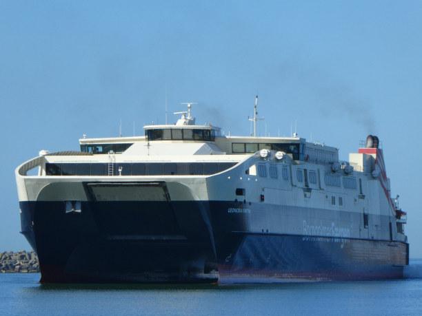 10 Tage Bornholm, Dänemark, Die Fähre von Ystad nach Bornhol