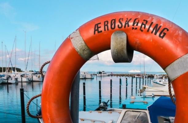 Kurztrip Kopenhagen, Dänemark, Am Segelhafen kann man die kleinen Bötchen begucken - im Hintergrund
