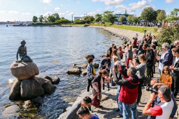 Kurzurlaub Kopenhagen, Dänemark, Definitiv das beliebteste Fotomotiv in Kopenhagen: die kleine Meerjung