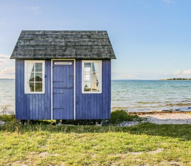 Kurztrip Kopenhagen, Dänemark, Die kleinen Strandhäuser sind einfach zauberhaft und könnten nicht m