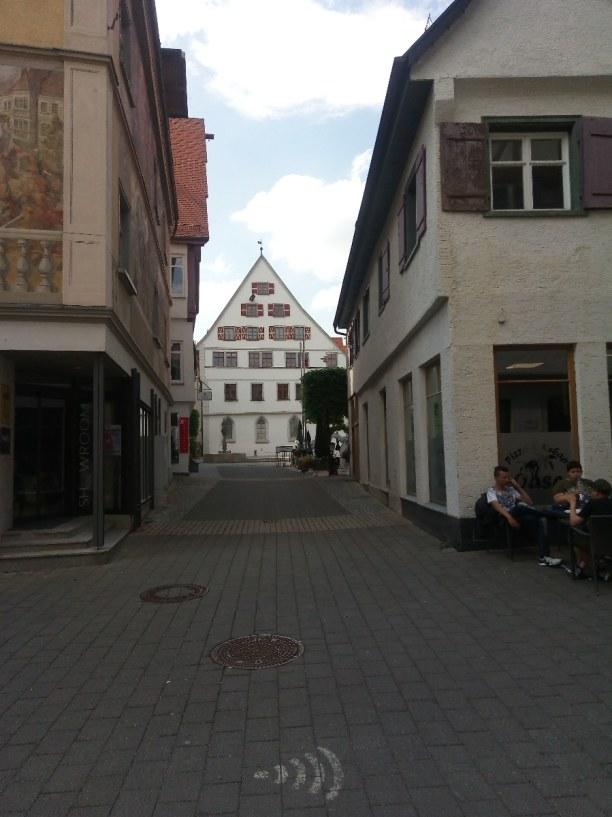 Kurzurlaub Baden-Württemberg, Deutschland, Altstadt mit Fussgängerzone