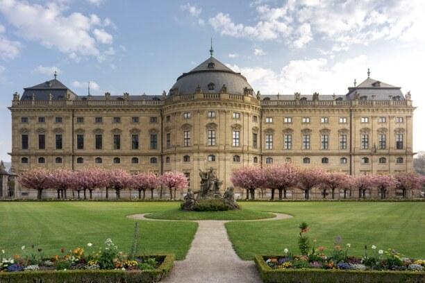 Langzeiturlaub Bayern, Deutschland, Auch die Würzburger Residenz ist ein echter Hingucker. Schlendert hie
